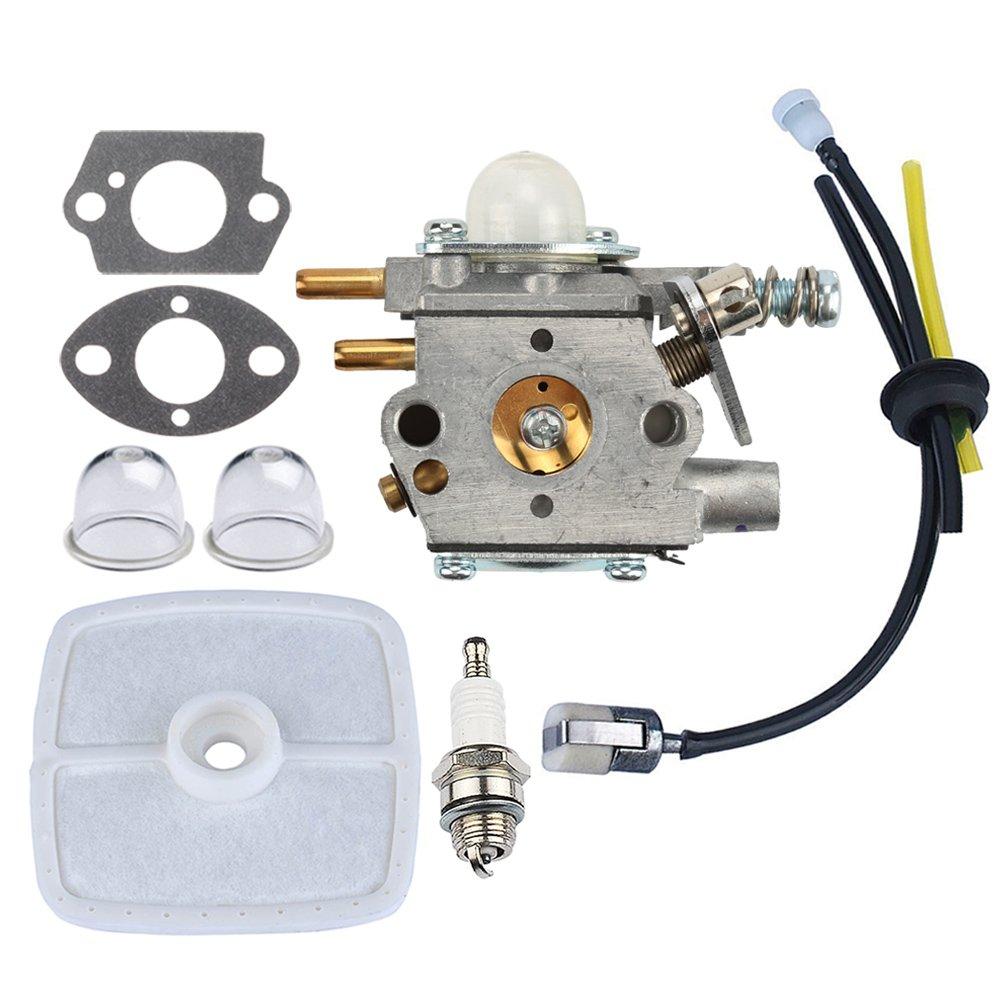 Panari Carburetor + Air Filter Fuel Line for ECHO Pole Saw Pruner PP1250 PP1260 PP1400 PPFD2400 PPSR2433 PPT2400 TT24 TT24A