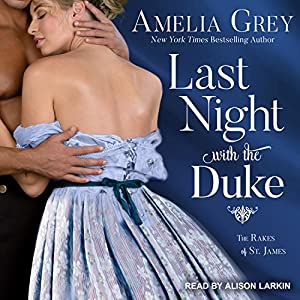 Last Night with the Duke Audiobook