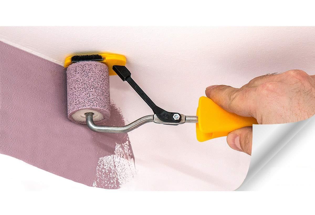 Rodillo de pintura de borde de 120 mm para cortar y pintar rayas herramienta de aplicaci/ón de color