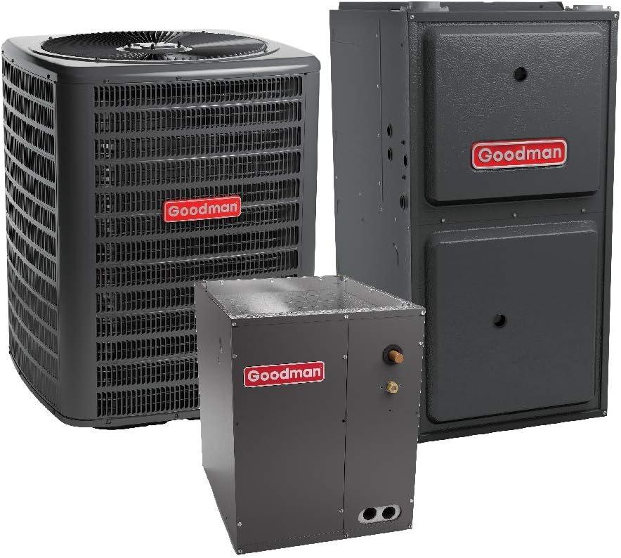 Goodman 3.5 Ton 14 Seer 80,000 Btu 92% Afue Gas System GSX140421 - CAPF4860C6 - GMSS920805CN