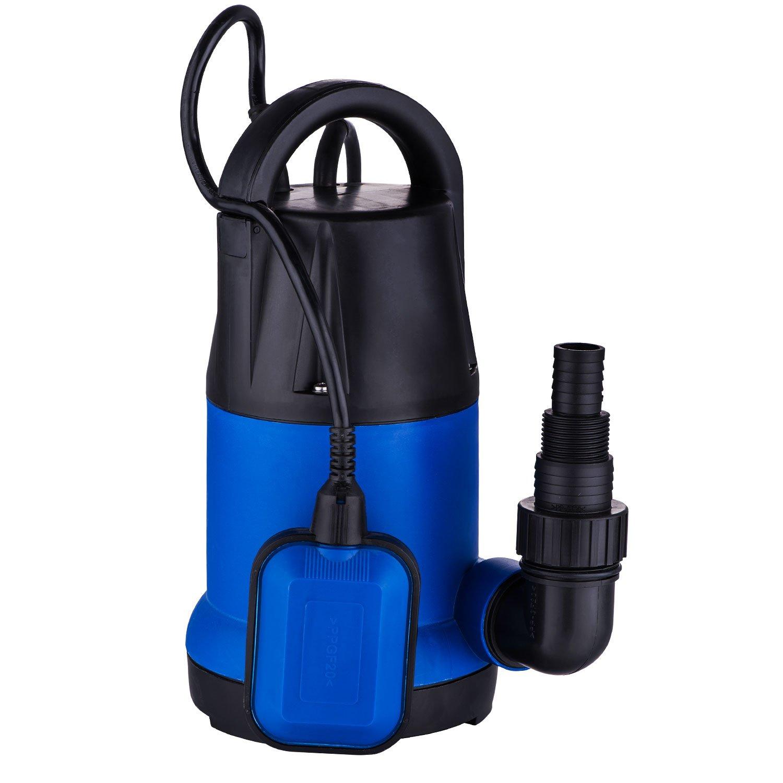1HP Submersible Sump Pump Homself Water Pump Clean/Dirty Water Pump (1 HP 3566 GPH)