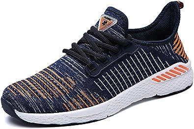 GUDEER Zapatillas de Deportes Zapatos de Running Para Correr Aire Libre y Deportes Transpirables Casual Gimnasio Sneakers Hombre Mujer: Amazon.es: Zapatos y complementos