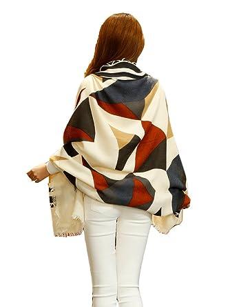 Donna Sciarpa,Donna inverno scialle acrilico maglione
