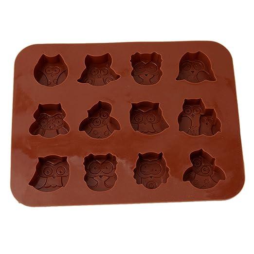 Gluckliy Eule Silikon Backform Muffinform Schokolade Kuchen Fondant
