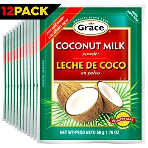 Grace Coconut Milk Powder, Pack of 12 (Maggi Coconut Milk Powder)