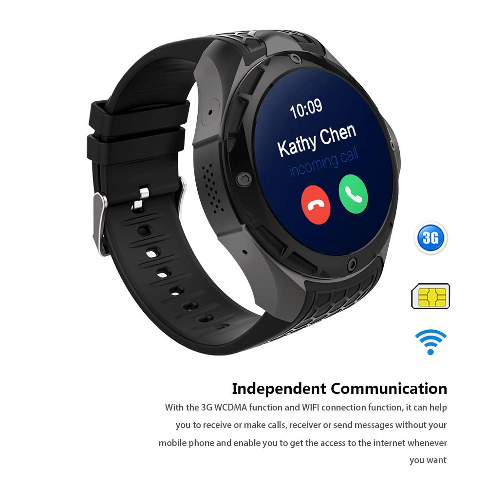 Amazon.com: Smartwatch Phone,Android iOS Fitness app, Google ...