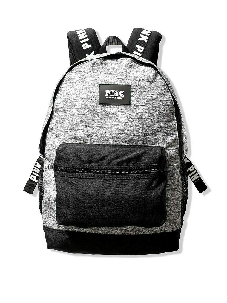 Victorias Secret Pink Campus Backpack 2019 Edition (Heather Charcoal) by VS PINK COLLECTION