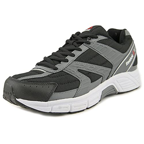 7c62830c673e Reebok Cruiser 4E (Wide) Shoe Men s Running 14 Black-Alloy-White ...