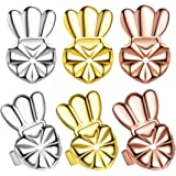 Ear Lifters Stud Earring Backs Gold/Silver/Rose Gold Plated, 3 Pairs Safety Lobe Support Ear Lifts for Heavy Large Earrings,