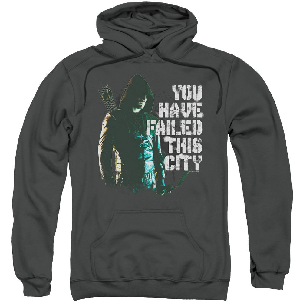 The Arrow You Have Failed Adult Hooded Sweatshirt Trevco