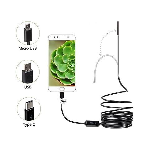 Endoskop für Android Phone Tablet Gerät Inspektionskamera 3,5 Meter Usb Kabel