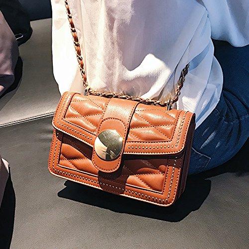 JUSTYOU Moda nbsp; nbsp;Gift la del Pequeño Bolso Cadena de Retro nbsp; Nuevo C Señoras Messenger de A Bag Simple Bolso Bolso POPO Bolso RxHqRr
