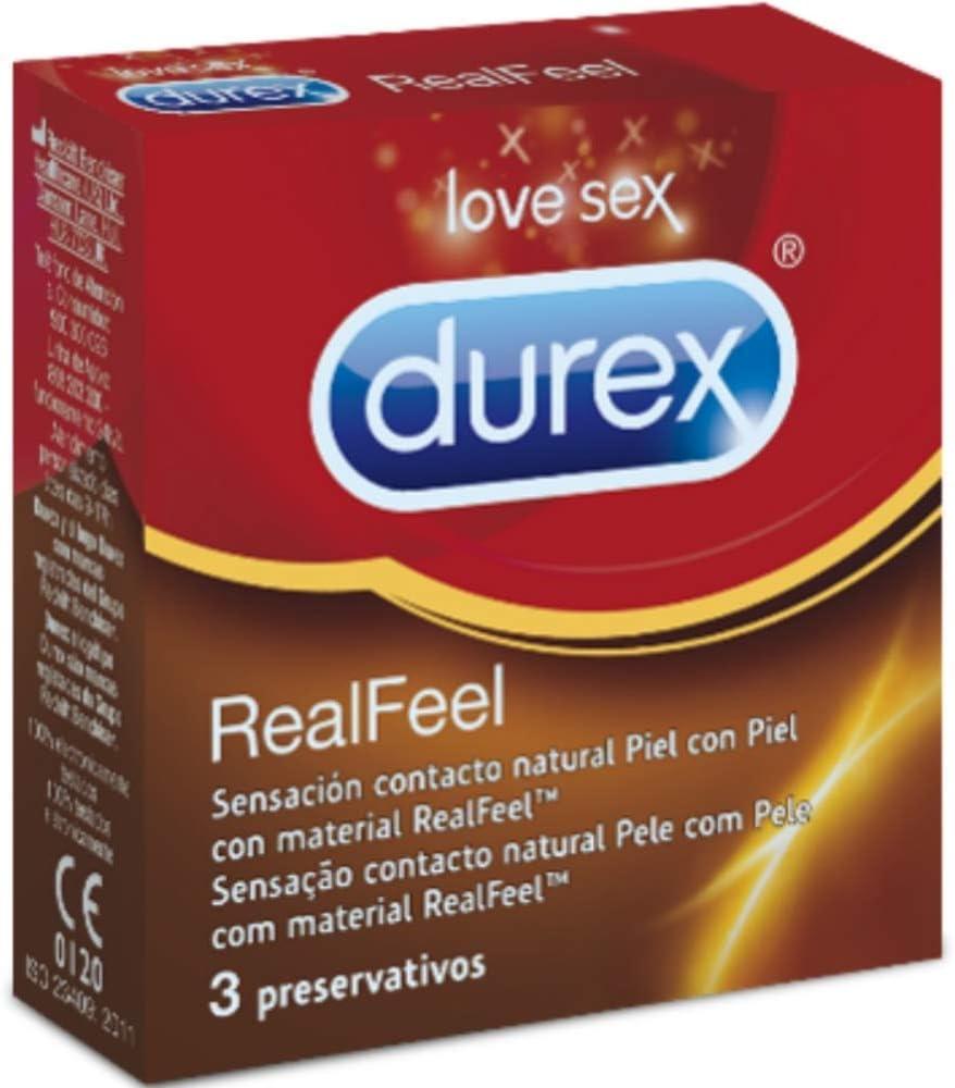 Durex Preservativos - 3 unidades: Amazon.es: Salud y cuidado personal