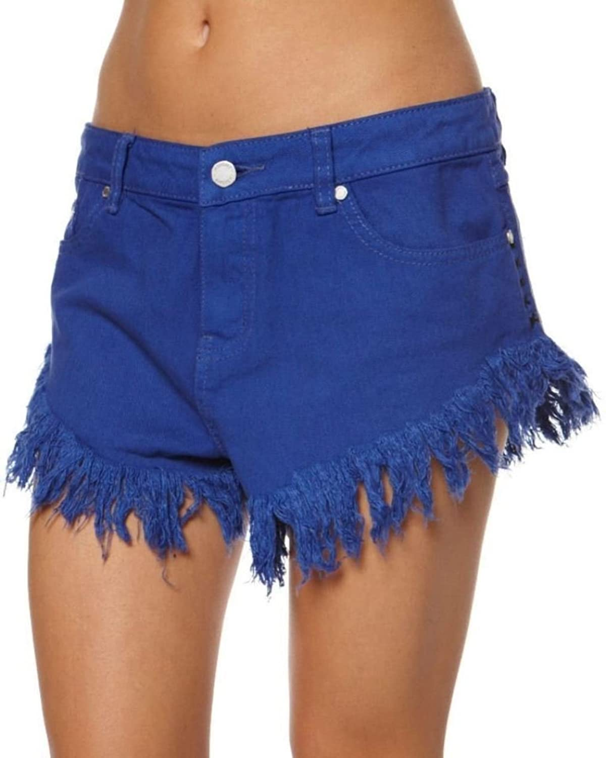Insight Women's Dipper Cut Offs, Blue, 26