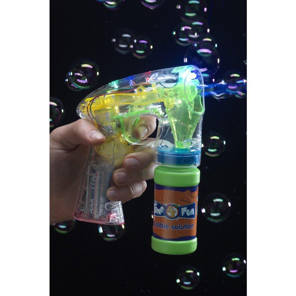 Seifenblasenpistole Leuchtet Enthält Bubble Pot mit Seifenwasser und ...
