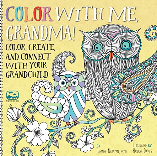 Color with Me, Grandma!: Color, Create, and Connect with Your Grandchild (A Side-by-Side Book) (Mothera Day Gifts)