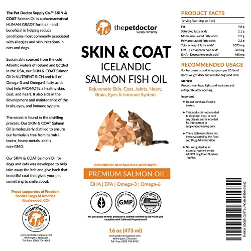 Pure salmon oil for dogs cats supports joint function for Does fish oil help with joint pain