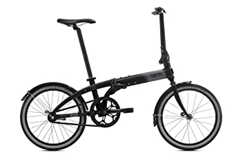 Tern Link Uno - Bicicleta Plegable, Color Negro