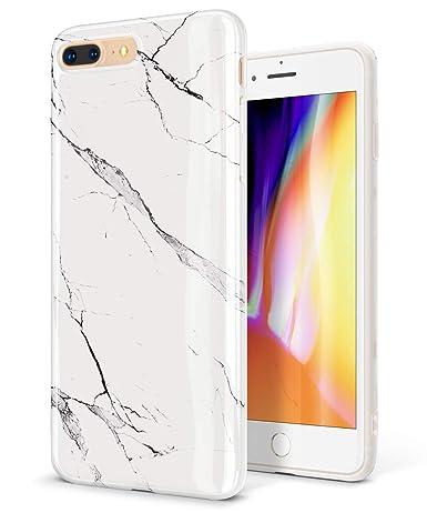 Amazon.com: GVIEWIN Funda de mármol para iPhone 8 Plus ...