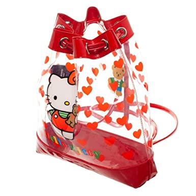 Image Unavailable. Image not available for. Color  Hello Kitty Clear Bag  Hello Kitty Drawstring Bag Hello Kitty Accessory. Roll over image to zoom in 23c8c25a2099f