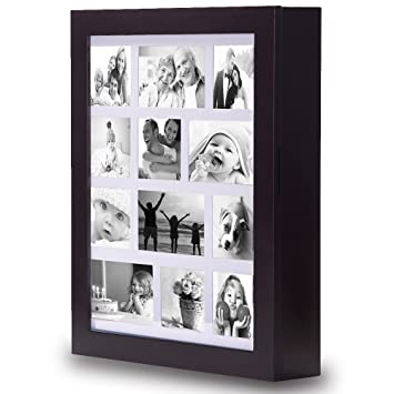 Amazoncom Ikee Design Jewelry Cabinet Photo Frame Wall Mounted