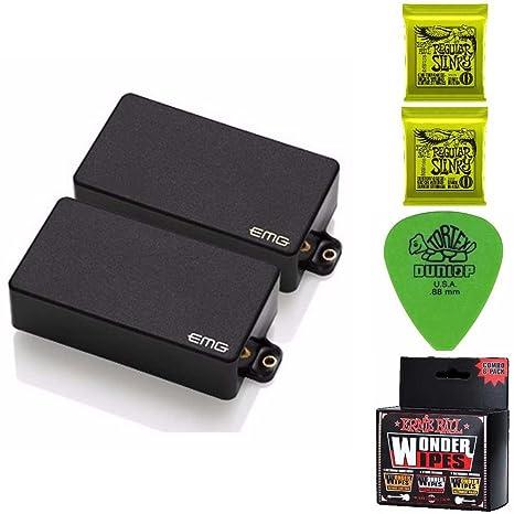 EMG Zakk Wylde Signature Humbucker - Juego de pastillas de guitarra, incluye 2 paquetes de