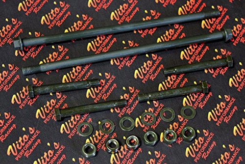 Upper Bolt (Vito's upper + lower a-arm bolt kit - washer nut bolts Banshee Raptor 700 YFZ450)