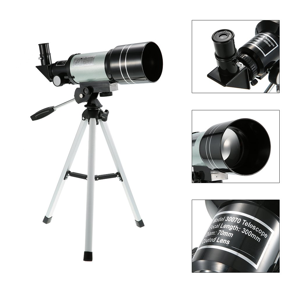 CHENC Astronomic Telescope, Professional 150X Telescope with Telescope Toyrific Astronomic Telescope with Sturdy Tripod Children's for Astronomy by CHENC