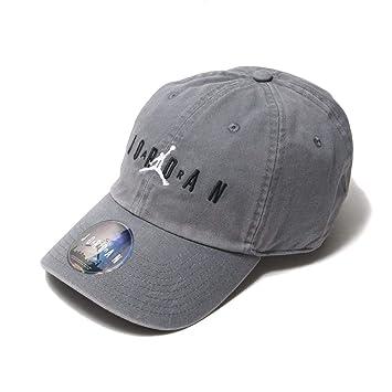 1c01e70f9a7 Nike Jordan Heritage H86 Air Strapback Hat Smoke Grey Black AA1306 ...