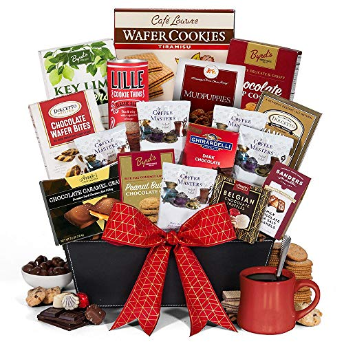 Premium Coffee and Chocolates Gift Basket