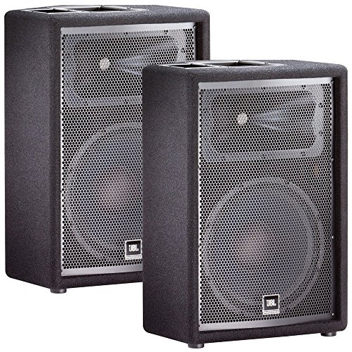 JBL JRX212 12' Passive Two-Way Stage Monitor Speaker Pair PA Package