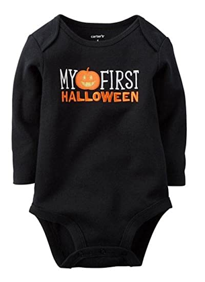 Amazon.com: Carter's Unisex Baby My First Halloween Bodysuit ...