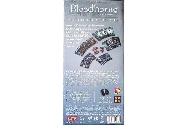 ASMODEE - Bloodborne: IL GIOCO DI Carte, LINCUBO del CACCIATORE ...