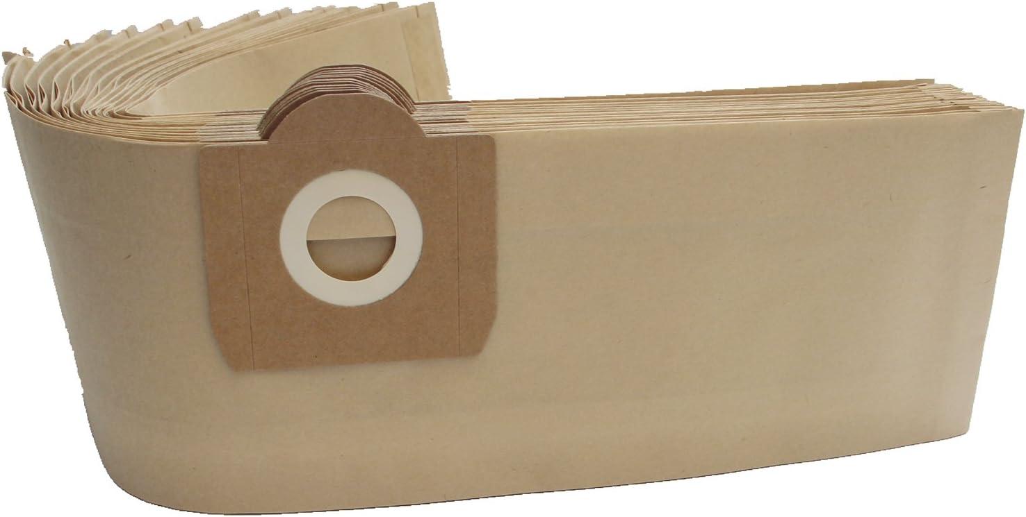 ZR82; Karcher A2700; Hoover H31 19L S6145 Bolsas de papel para aspiradoras Rowenta ZR81 Clean Fairy 10 bags ZR814
