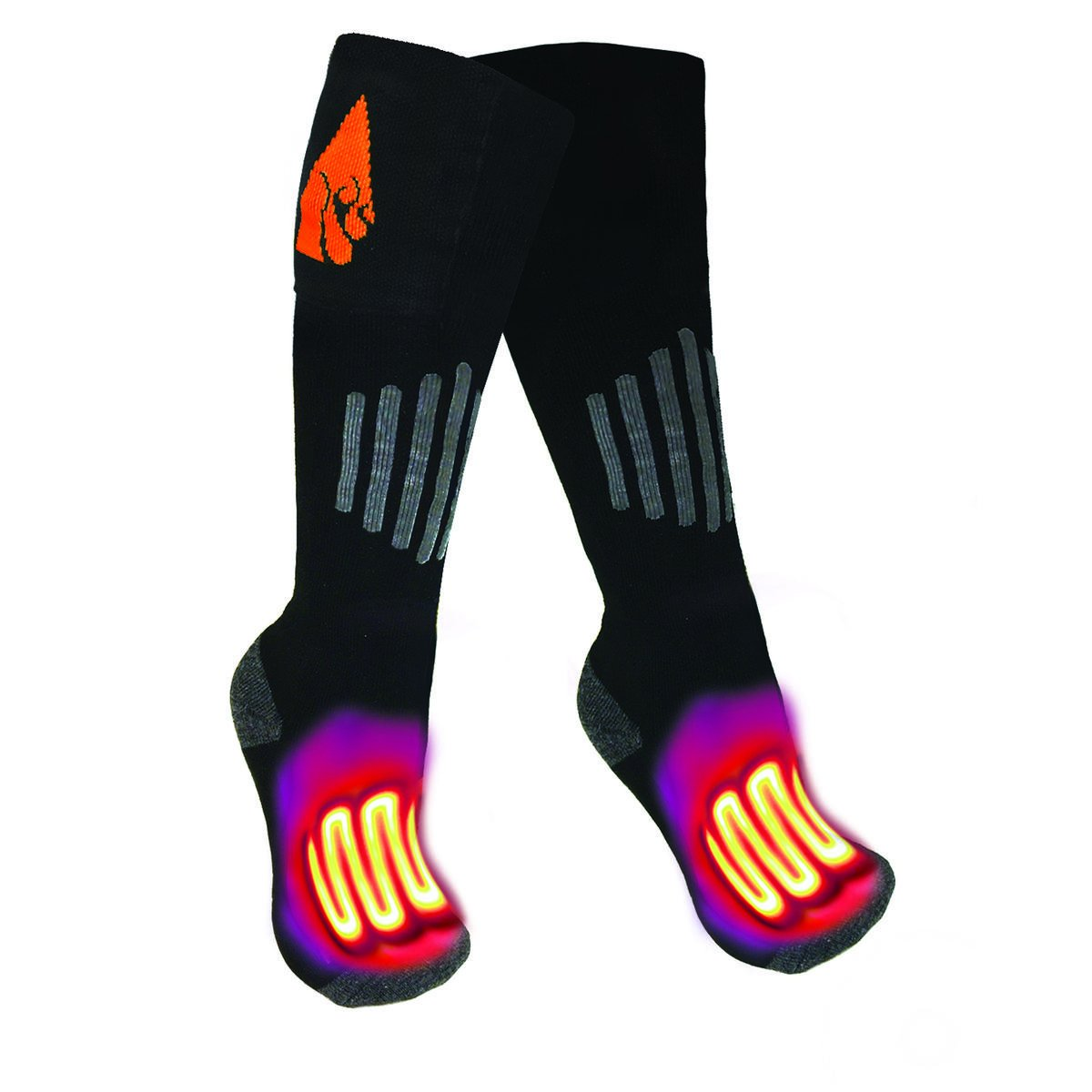 ActionHeat AA Battery Heated Socks Wool
