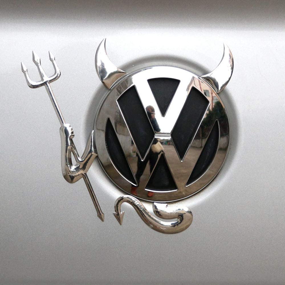 vlandho Pegatinas Y Calcomanías Divertidas para Volkswagen Polo Passat B5 B6 B7 T4 T5 Golf 4 5 6 7 VW Tiguan Jetta GOL Accesorios para Coche