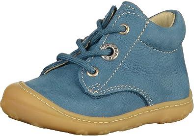 4f00db9eec95 RICOSTA 12.20100 Unisex-Child Jeans Leather Lace Ups, 2 Child UK