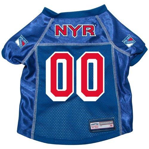 New York Rangers Premium Dog Pet Alternate Hockey Jersey w/ Name Tag SMALL NHL