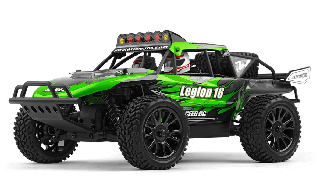 Exceed Racing Desert Monster 1/16 Scale Truck Ready to Run 2.4ghz (DD Green)