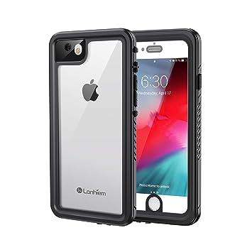 Lanhiem Funda Impermeable iPhone 7/8, Carcasa Sumergible Resistente Al Agua IP68 Certificado [Protección de 360 Grados], Carcasa para iPhone 7 iPhone ...