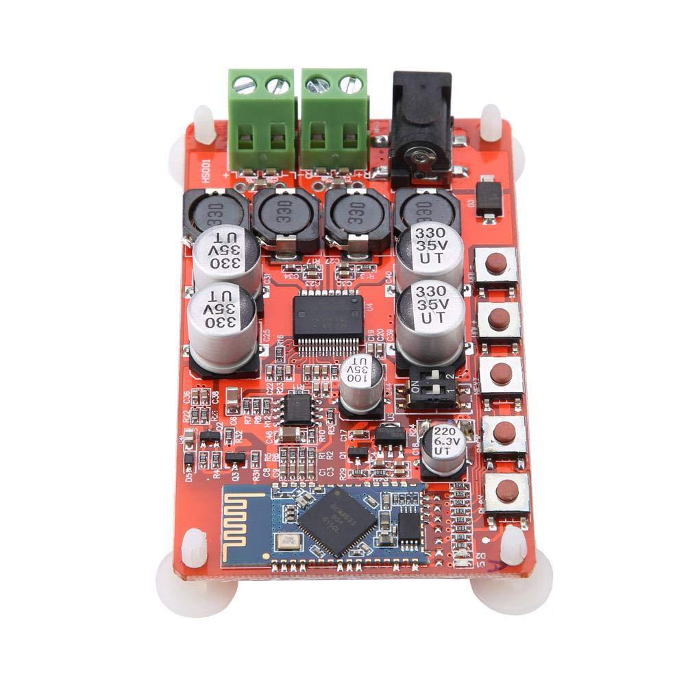 Tarjeta de Amplificador de Audio, TDA7492P 8~25V 2-Canales Bluetooth Inalámbrico V4.0 Módulo Receptor de Audio