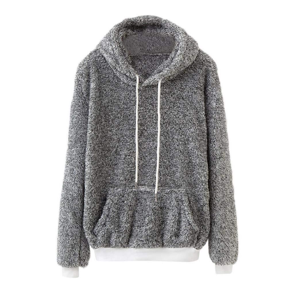 Luckycat Sudadera con Capucha de Mujer Abrigo de Invierno cálido Abrigo de algodón de Lana con Capucha Outwear: Amazon.es: Ropa y accesorios
