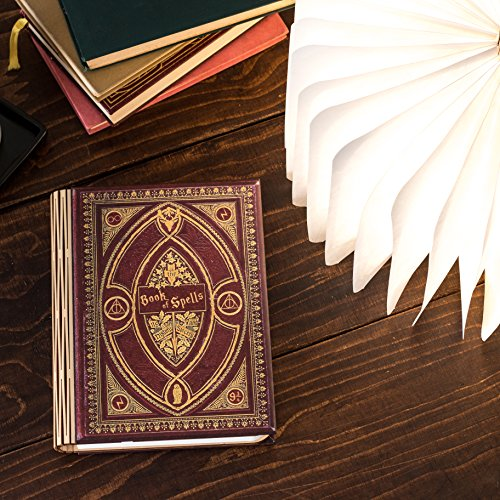 Harry Potter Themed Book of Spells Folding 360 Degree Chargeable Reading Lamp, Night Light, Desk, Bedside or Travel Light. ()