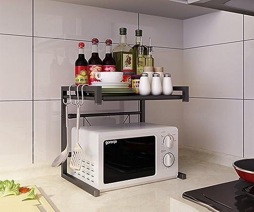 Yxx max Organizador Cocina Estantes de Cocina retráctiles Horno de ...