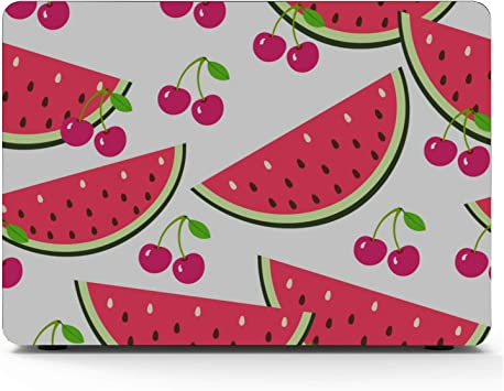 MacBook Pro 15 Accessories Summer Sweet Cool Fruit Watermelon Plastic Hard Shell Compatible Mac Air 11 Pro 13 15 Laptop Case MacBook Pro Protection for MacBook 2016-2019 Version
