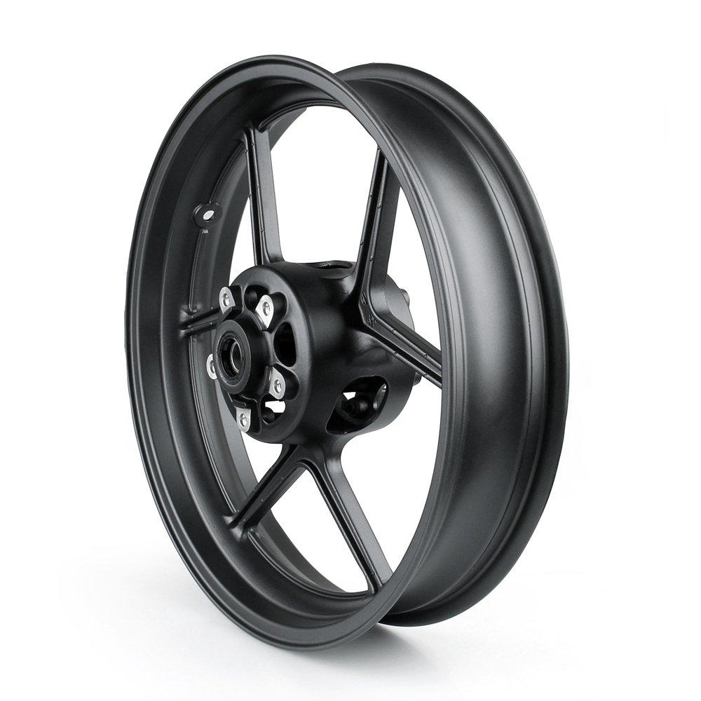 Artudatech Front Wheel Rim For Kawasaki ER6N 2006-2012 ZX10R 2004-2005 Black by Artudatech (Image #2)