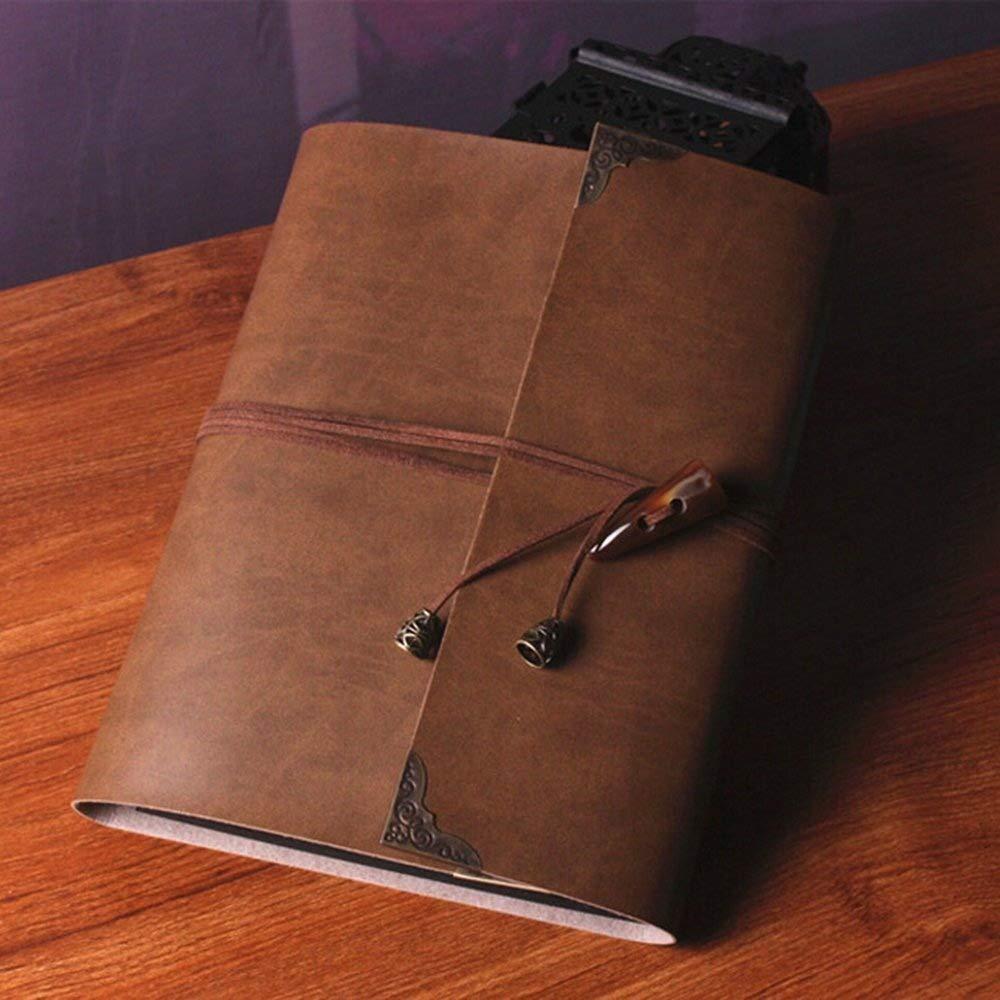 xytmy autoadhesivo DIY Scrapbooking álbumes de de fotos, álbumes de de recortes álbum de fotos libro de recuerdos, 60 páginas hecho a mano DIY Vintage con Kit de accesorios, color marrón oscuro 57d18f