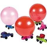 Car Balloon Racers (Set of 12) Fun Party Toys