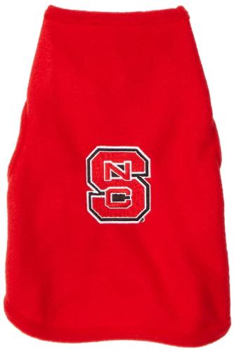 NCAA North Carolina State Wolfpack Polar Fleece Dog Sweatshirt, Large, My Pet Supplies