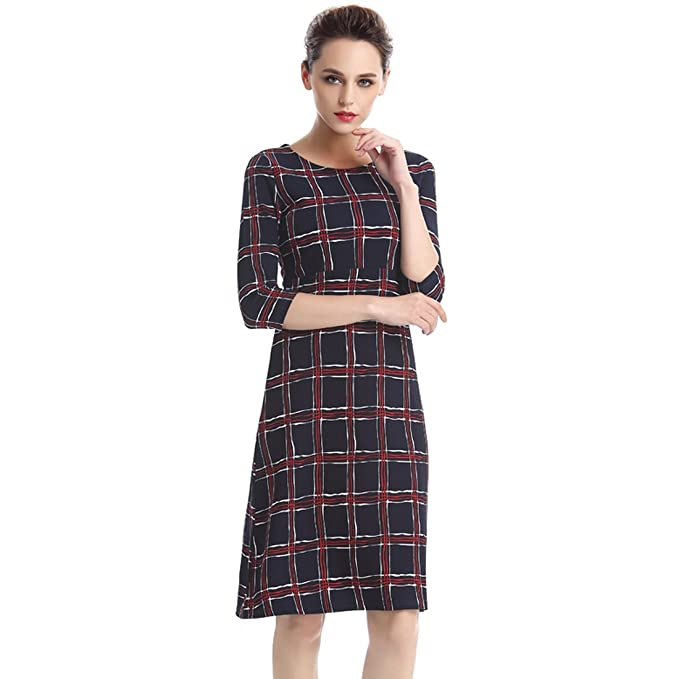 Negocio vestido patrón vestido Swing vestido Vintage vestido